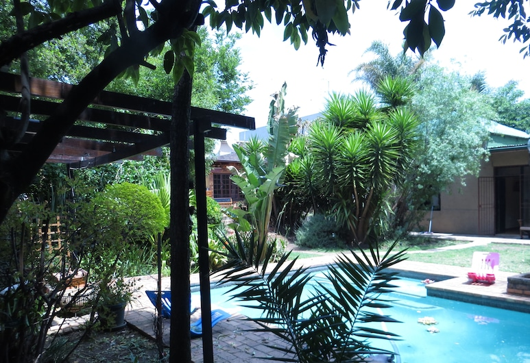 House on York Guest House, Johannesburgo, Vista desde el hotel