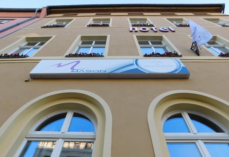 Mason Boutique Hotel, Altenburg, Parte delantera del hotel