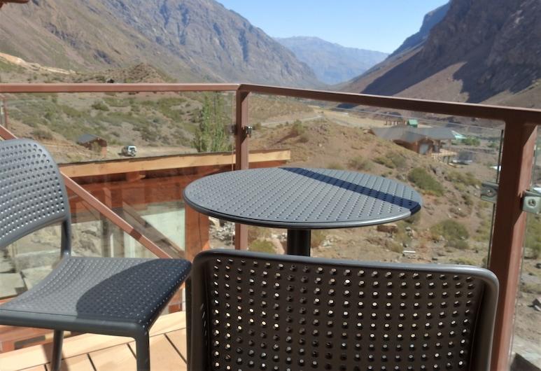 Lodge El Morado, San José de Maipo, Štandardná izba s dvojlôžkom alebo oddelenými lôžkami, 1 spálňa, výhľad na hory, Terasa