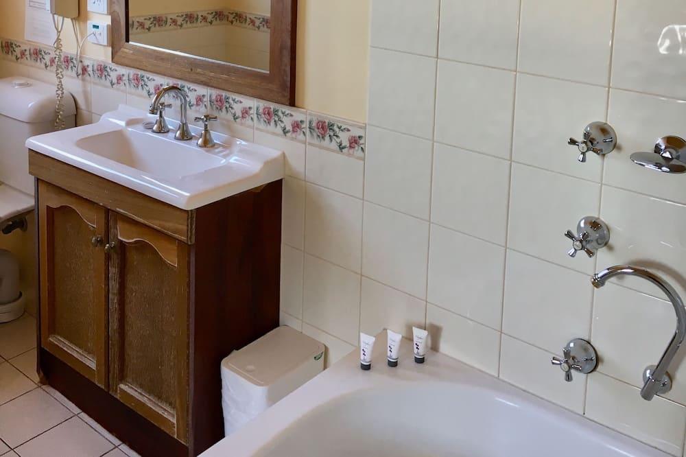 Kamer, 1 kingsize bed, privébadkamer - Badkamer