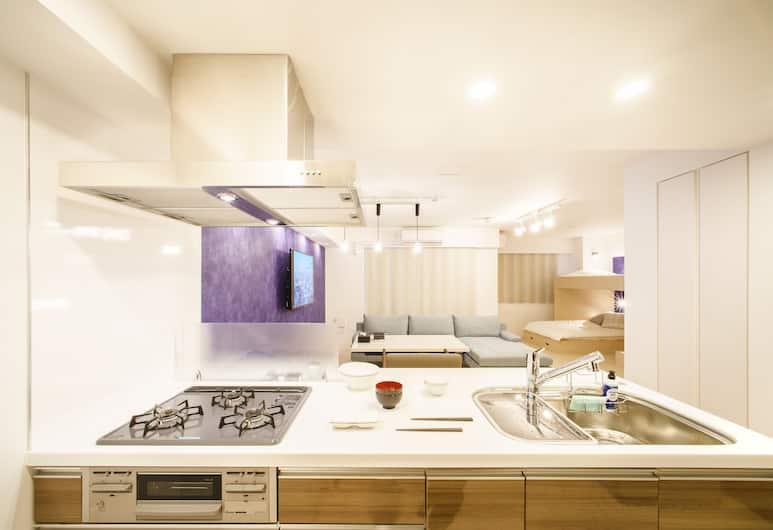 阿薩斯日本橋酒店, 東京, 舒適套房, 非吸煙房, 廚房 (4 Semi-double Bed), 客房