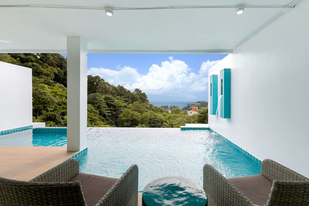 Partial Deluxe Sea View Pool Suite - Piscina privada