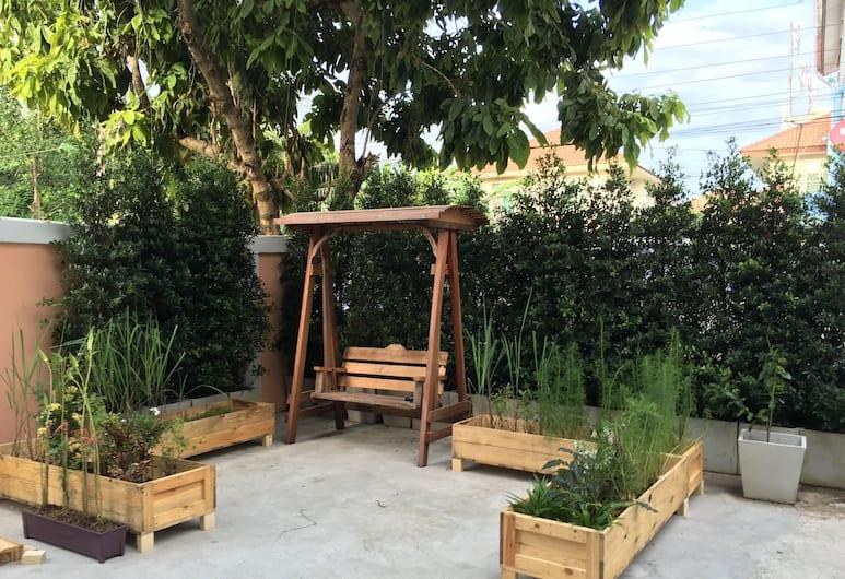 Wanmai Herb Garden, Bangkok, Terras