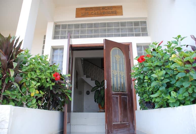 卡蘭奎斯住宅酒店, 達卡, 住宿入口