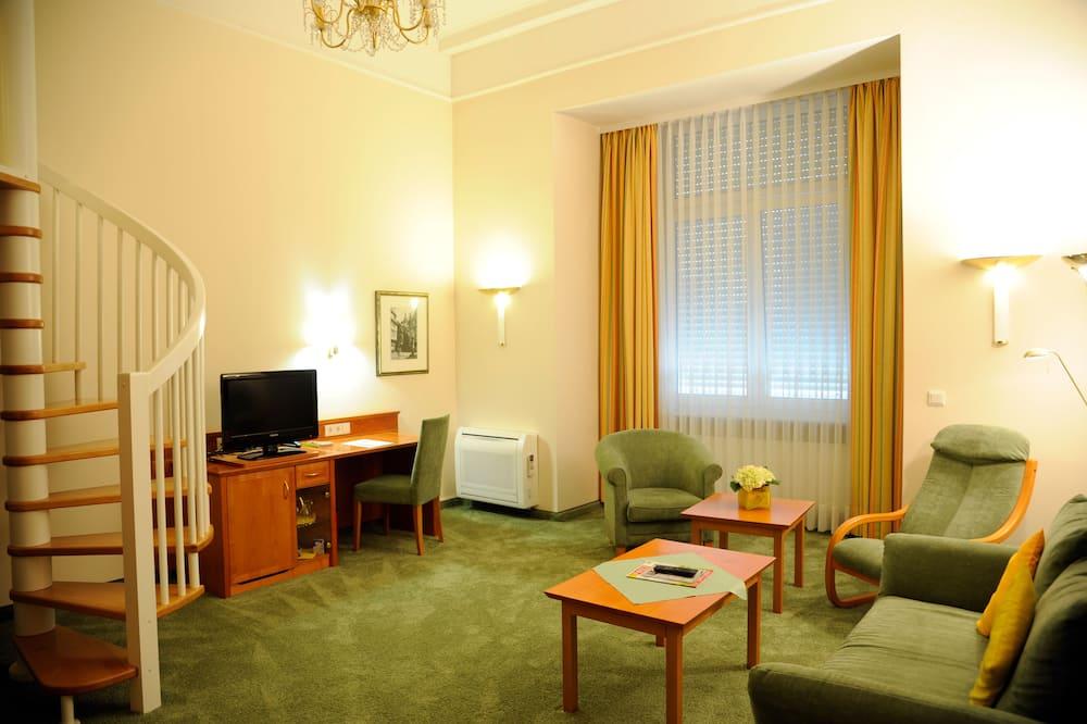 Junior suite (Maisonette) - Woonruimte