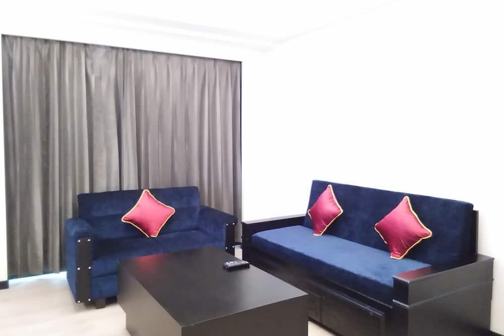 Suite, 1King-Bett, Raucher - Wohnbereich