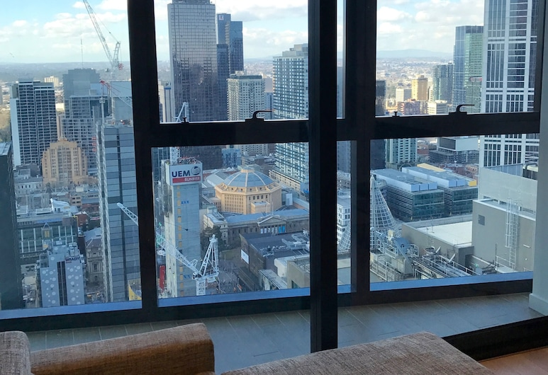 Apartments Melbourne Domain - City Lofts, Melbourne, Two Bedroom Deluxe Apartment - City View, View from room