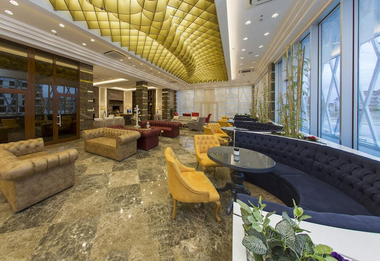 Gherdan Gold Hotel, Selcuklu, Lobby Sitting Area