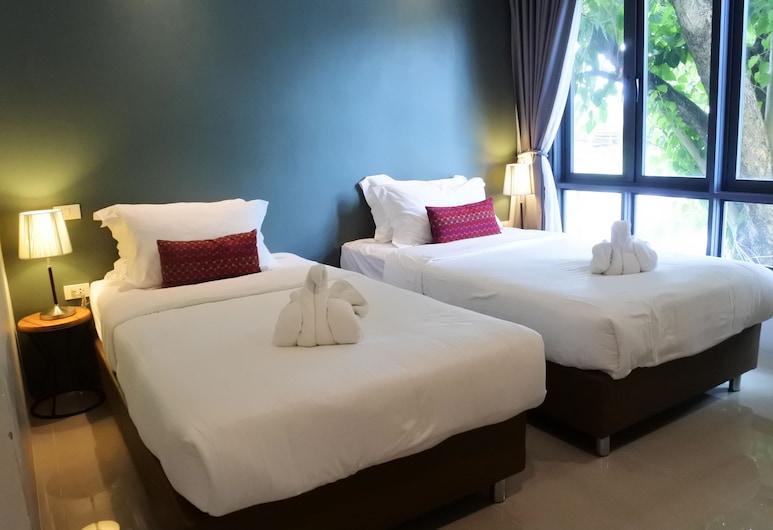 費辛 H 酒店, 清邁, Deluxe Twin Room, 客房