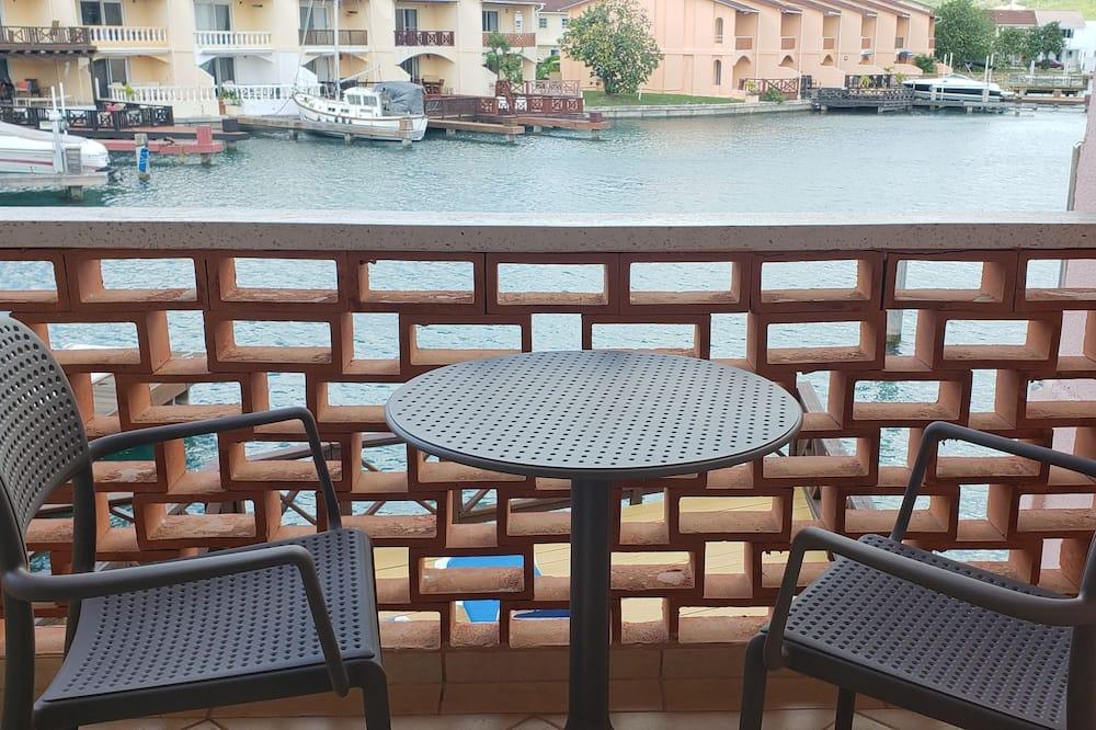 高級聯排別墅, 2 間臥室, 廚房, 海港景 - 露台