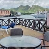 高級聯排別墅, 2 間臥室, 廚房, 海港景 - 陽台