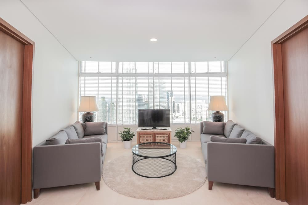 The Penthouse - Living Area