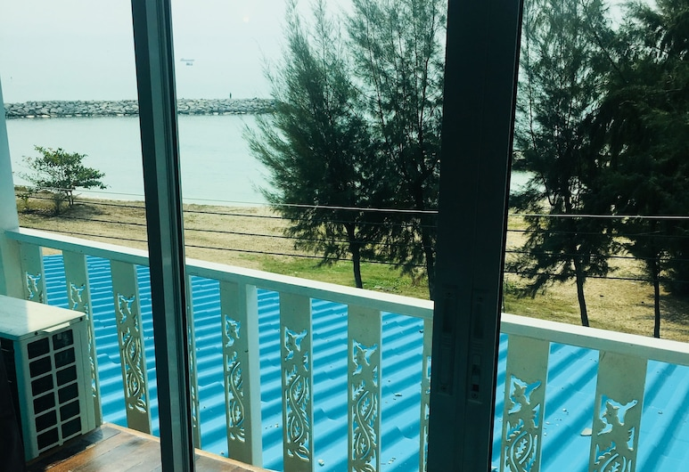 I Talay Lodge Boutique Hotel, Rayong, Standard Seaview, Balcon