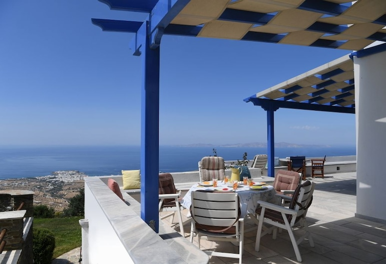 Tinos Sky View Villa, Tinos, Villa, 2 Bedrooms (Tinos Sky View 1), Terrace/Patio