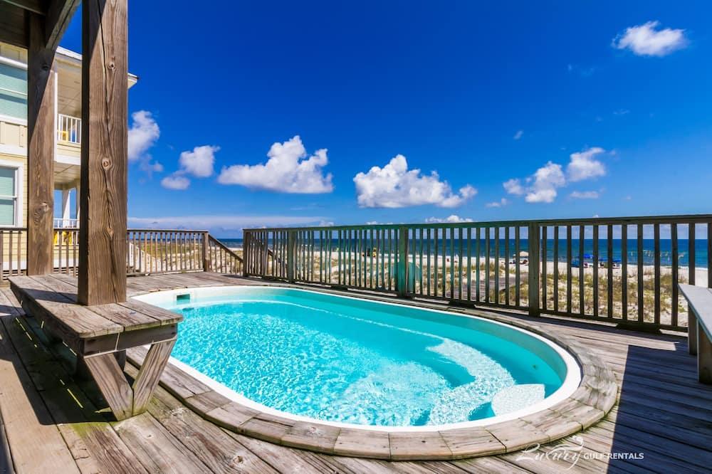 Namas, keli miegamieji, vaizdas į vandenyną - Lauko baseinas