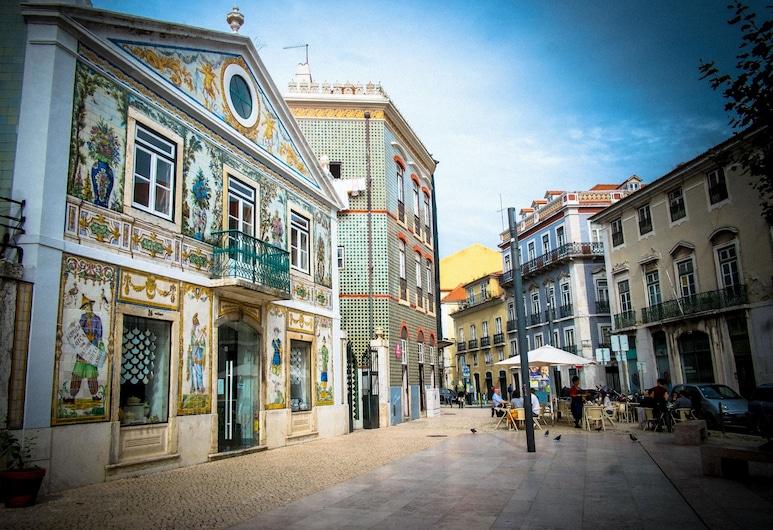 OnJ S. Lázaro, Λισσαβώνα, Εξωτερικός χώρος ξενοδοχείου