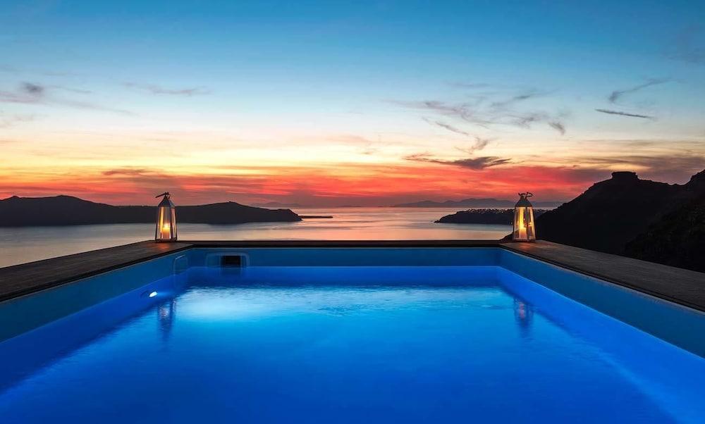 西里亞斯酒店, 聖托里尼, 室外泳池