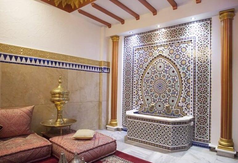 Hôtel Mamora, Tanger, Hotellets indgang