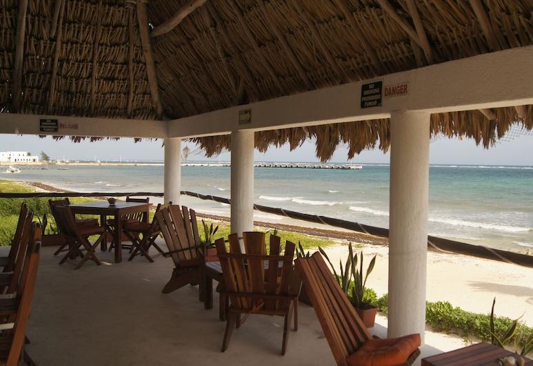 Rancho Sak-Ol, Puerto Morelos, บาร์ของโรงแรม