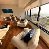 לופט דה-לוקס, 2 חדרי שינה, גישה לבריכה, נוף לאוקינוס - סלון