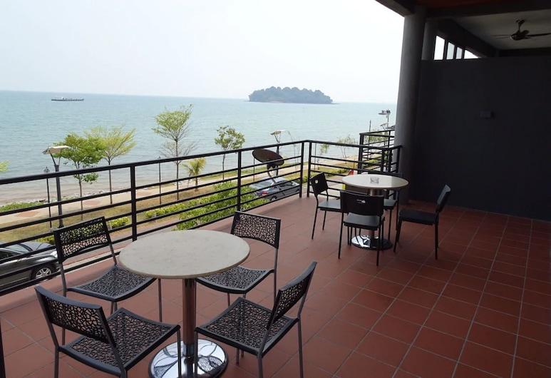Bayfront Hotel, Port Dickson, Terrasse/Patio