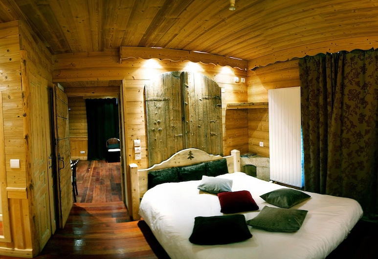 Hôtel Arbez franco-suisse, Les Rousses, Standard-Doppelzimmer, Zimmer