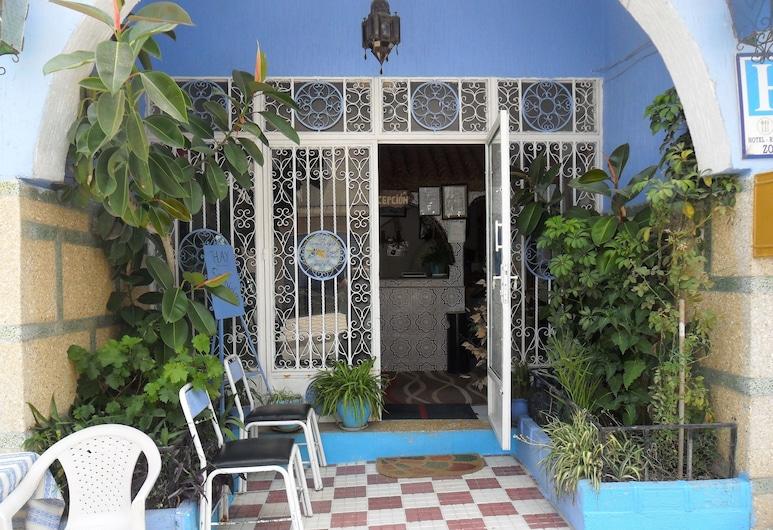 Hotel Zouar, Chefchaouen, Hotellentré