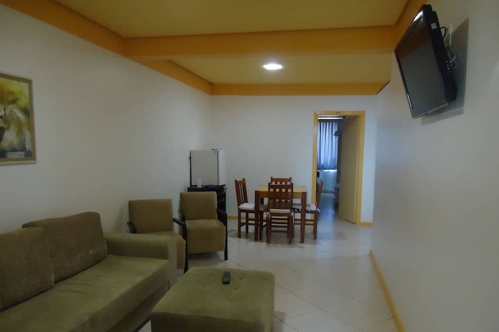 Family Quadruple Room (Flat) - Living Room