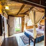 וילת קומפורט, חדר שינה אחד, נוף לים, אזור הגן (Wooden) - חדר אורחים