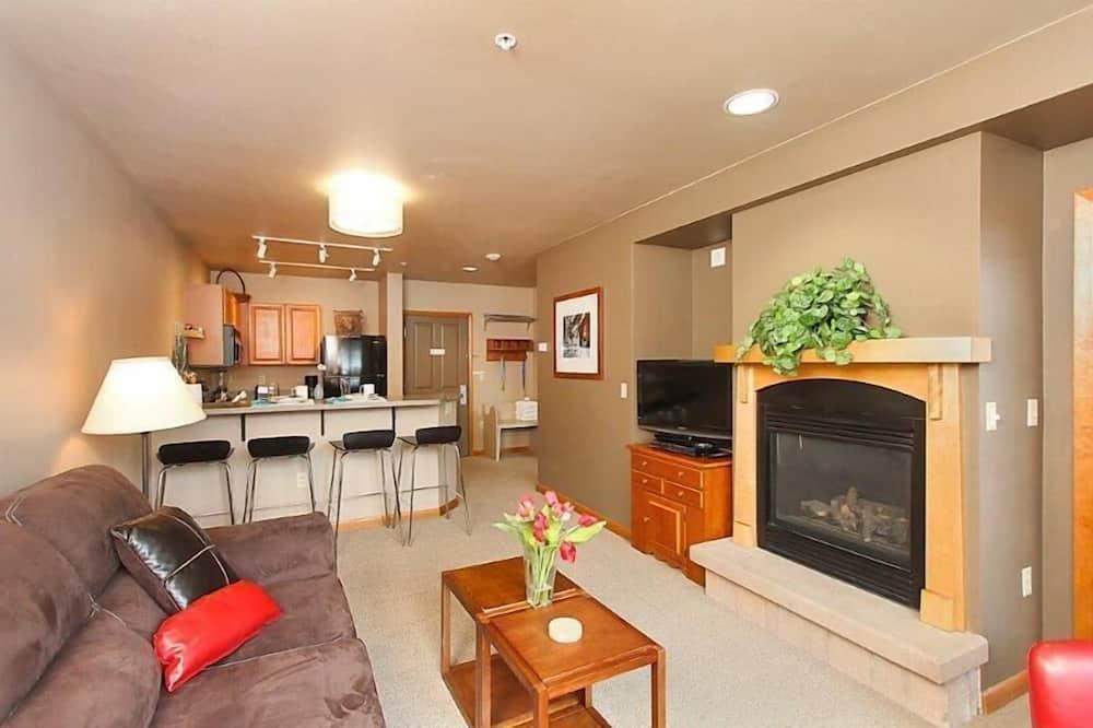 Casa Familiar, 1 Quarto - Área de Estar