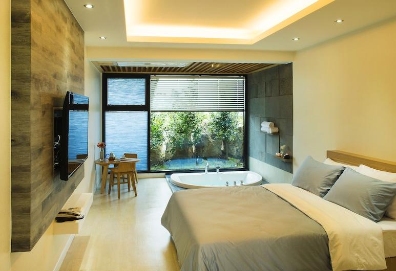 濟州水壩水療別墅酒店, Jeju City, 雙人房 (Dodam), 客房