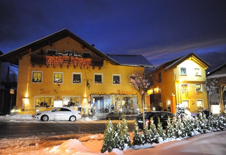Hotel Rösslwirt, Lam, Hotel Front – Evening/Night