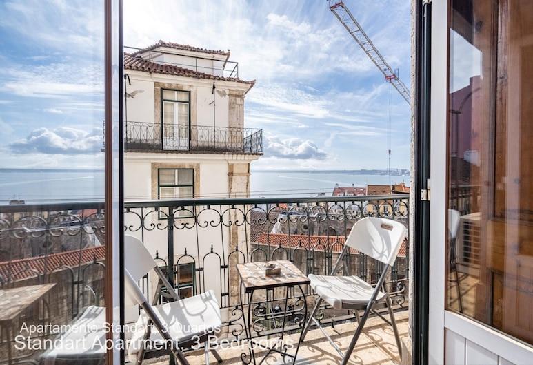 Akicity Alfama Classic, Lissabon, Standard külaliskorter, 3 magamistoaga, Rõdu
