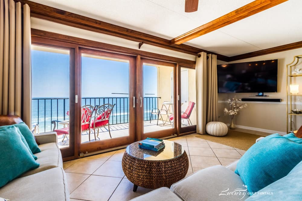 Korter, 3 magamistoaga, vaade ookeanile - Lõõgastumisala