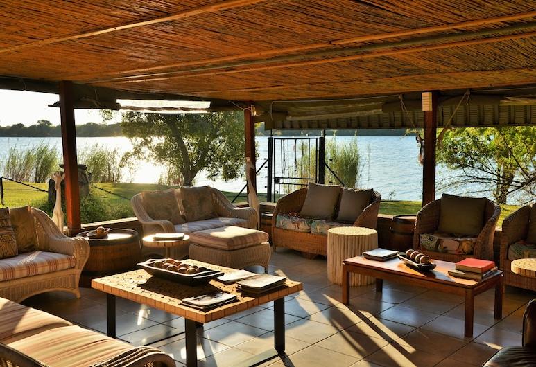 River View Lodge, Kasane, Dinlenme salonu