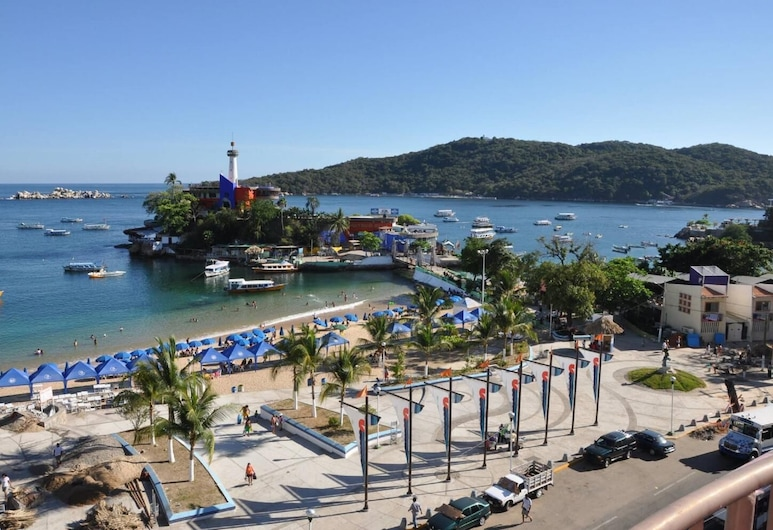 Caleta View Hotel and Bungalows, Acapulco, Plage