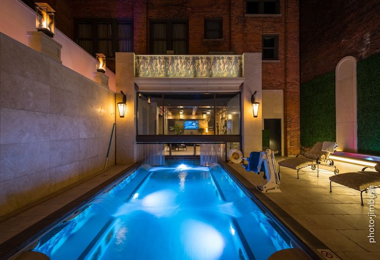 Curtiss Hotel, Ascend Hotel Collection, Bafalas, SPA vonia lauke