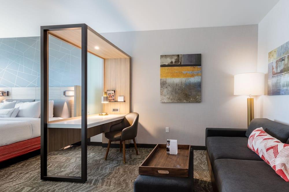 Suite, 1 kingsize-seng, ikke-røyk - Oppholdsområde