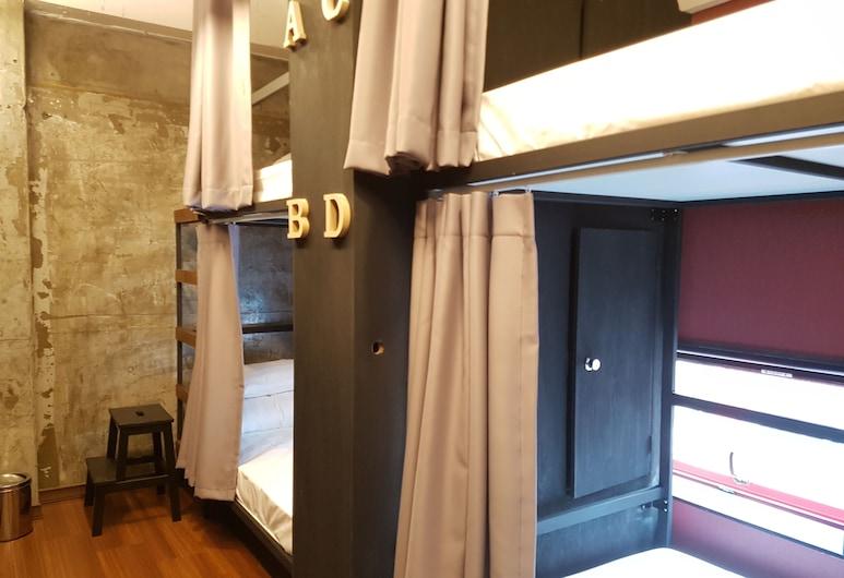 TraveLight - Hostel, Busan, Spoločná zdieľaná izba, len pre ženy (4-person, Foreigners Only), Hosťovská izba