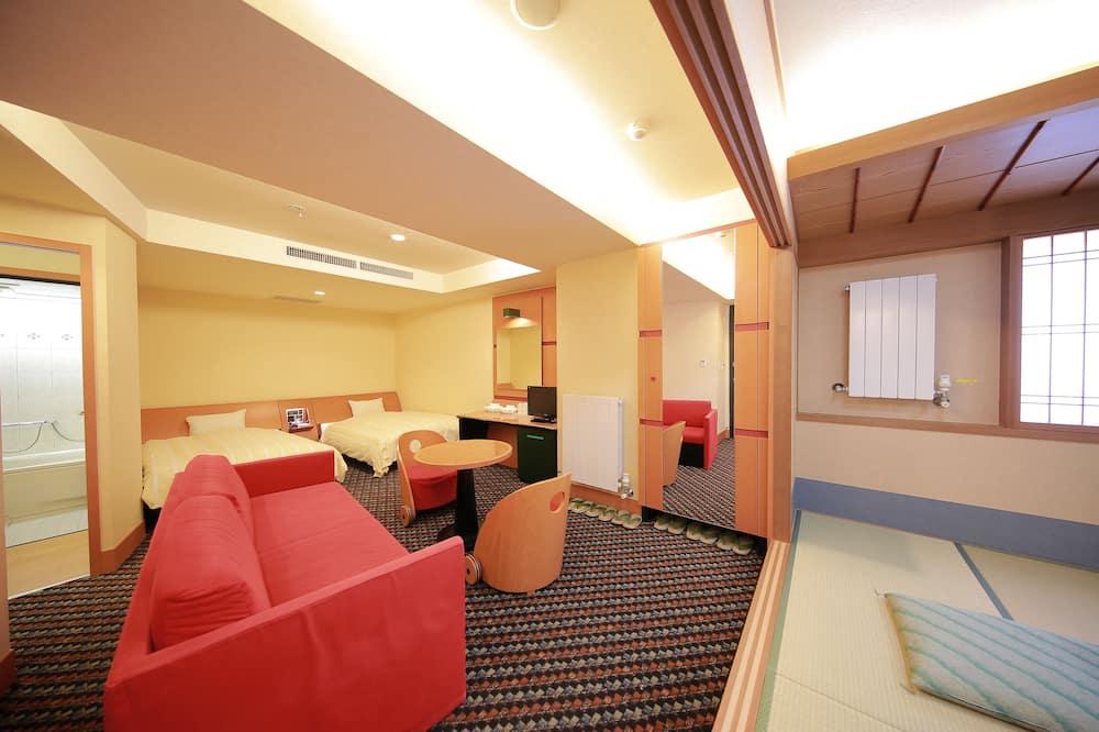 Camera Tradizionale - Area soggiorno
