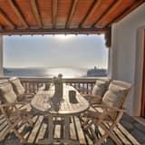 Lägenhet - 2 sovrum - balkong - havsutsikt - Balkong