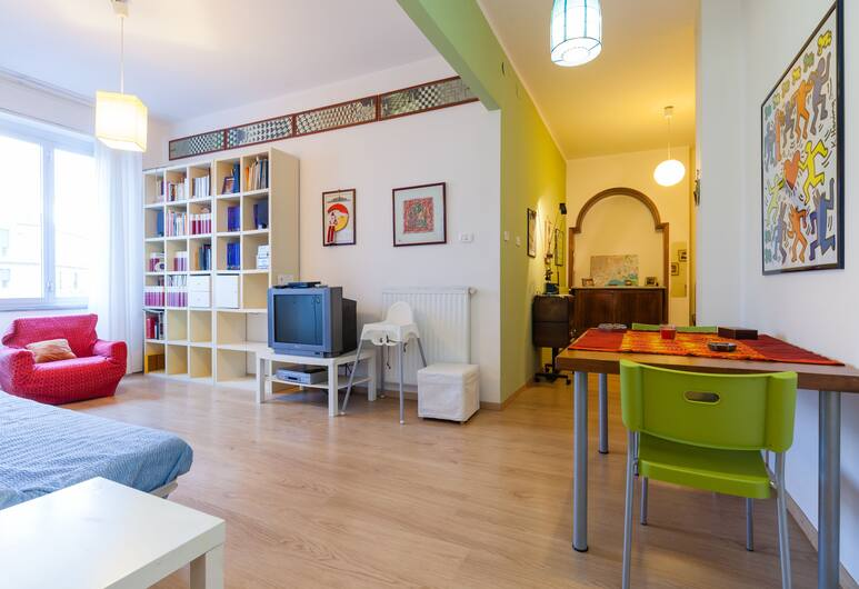 Apartment Leonardo - BH 48, Νάπολη, Διαμέρισμα, 1 Υπνοδωμάτιο, Καθιστικό