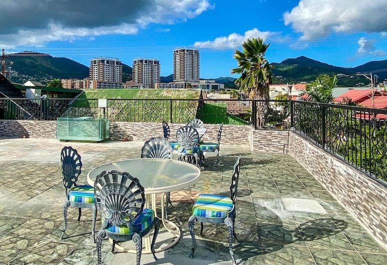 Liam's Guest House On The Avenue, Port of Spain, Penthouse Exclusive, 1 phòng ngủ, Quang cảnh thành phố, Sân thượng/sân hiên