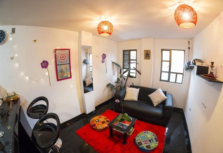 Mandala Hostel, Bogotá, Comfort-íbúð - eldhús, Herbergi