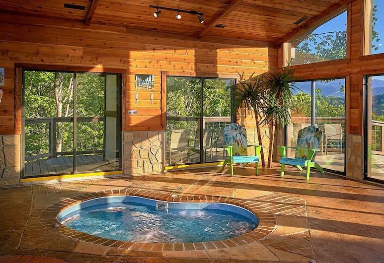 Mountain View Mansion, Sevierville, Apartment, 6Schlafzimmer, Innen-Whirlpool