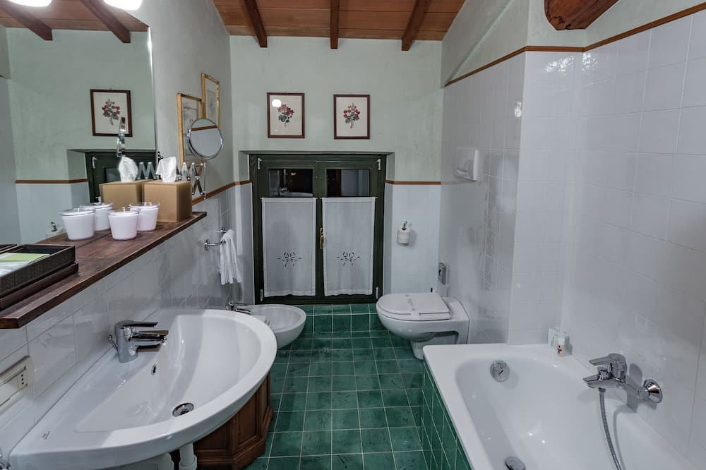 ห้องโรแมนติกดับเบิล - ห้องน้ำ