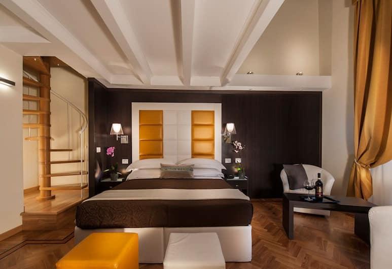 DVE Suite Rome, Róma, Junior lakosztály, Vendégszoba