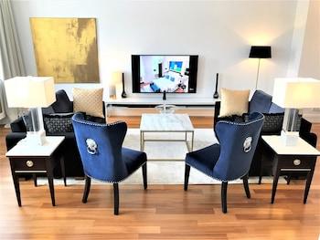 Mynd af  Luxury Apartments MONDRIAN Market Square  í Varsjá