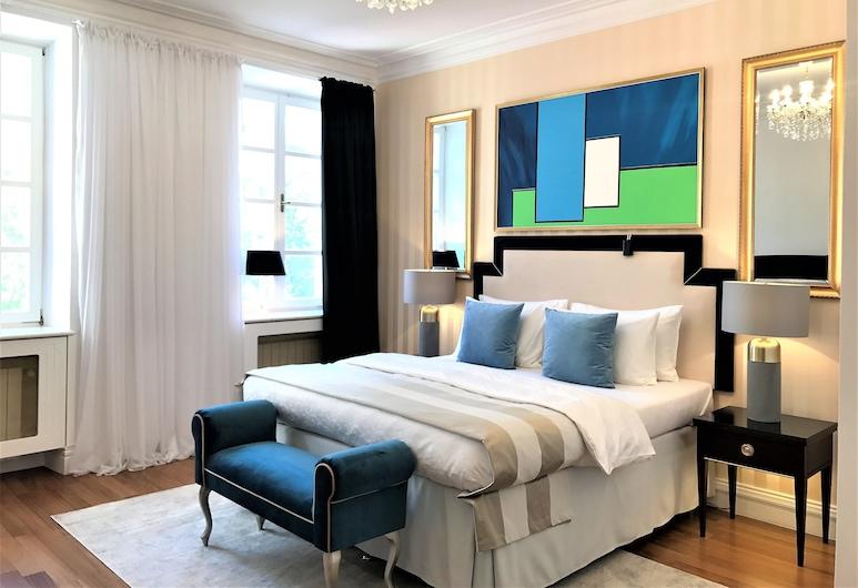 Luxury Apartments MONDRIAN Market Square , Varsovia, Presidential Suite, 3 Bedrooms, 2 Bathrooms (Market Square view, 180 m2), Habitación