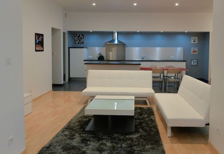 Loft Lafayette, Toulouse, Apartment (5 Persons), Ruang Tamu
